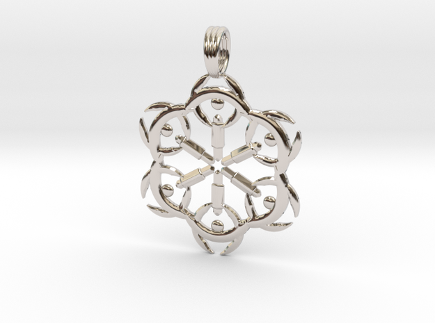 STAR FUSION in Rhodium Plated
