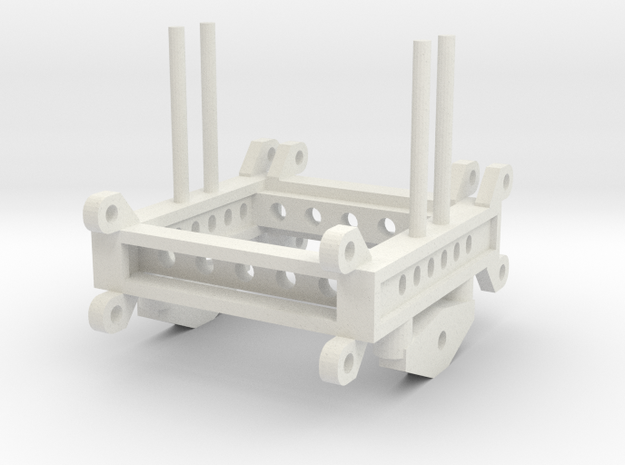 000143 low loader  between axis ho in White Natural Versatile Plastic