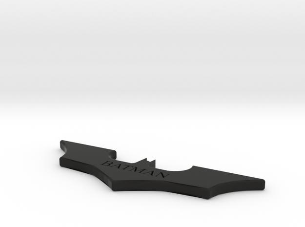 Batarang (Smooth) in Black Strong & Flexible