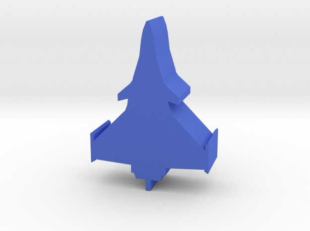 Game Piece, Blue Force Rafale Fighter in Blue Processed Versatile Plastic
