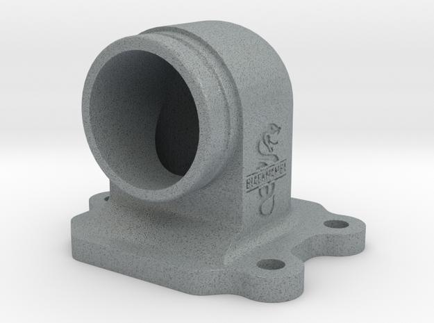 Kreidler Spruitstuk/Ansaugstutzen/Intake Manifold  in Polished Metallic Plastic