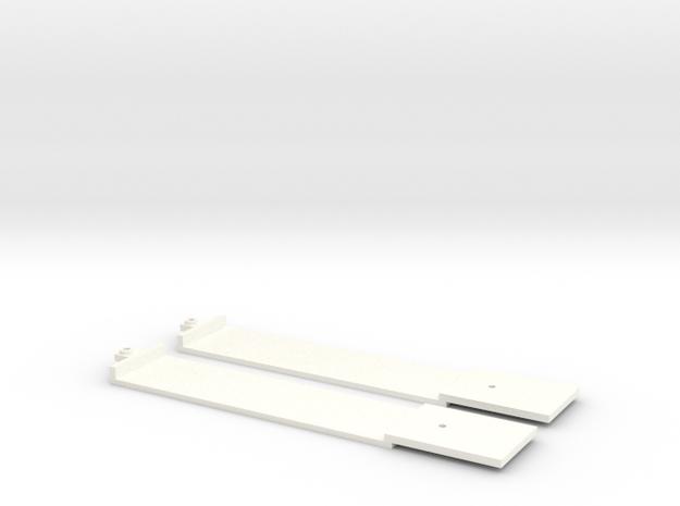 Bodenplatten GTW zweiteilig Scale TT in White Processed Versatile Plastic