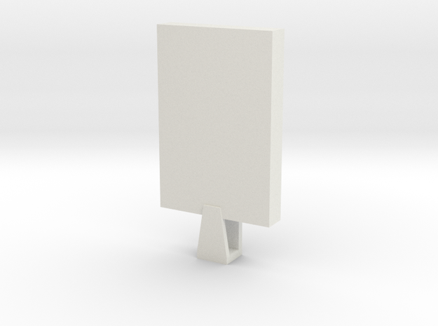 Custom Jewlery Blank 122615 in White Strong & Flexible