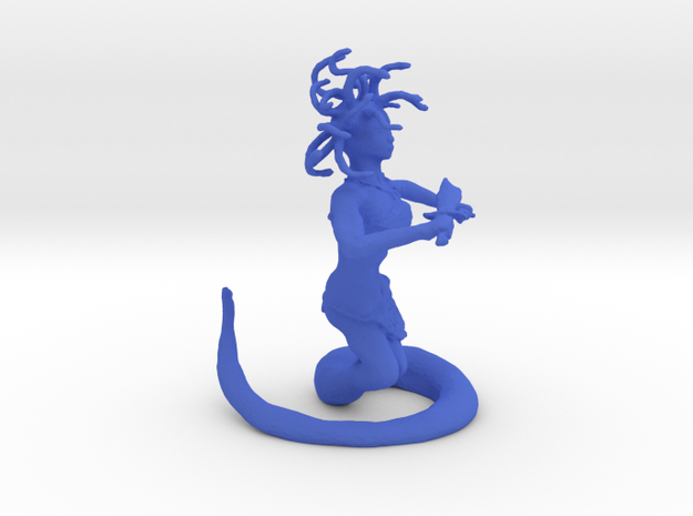 Medusa in Blue Strong & Flexible Polished
