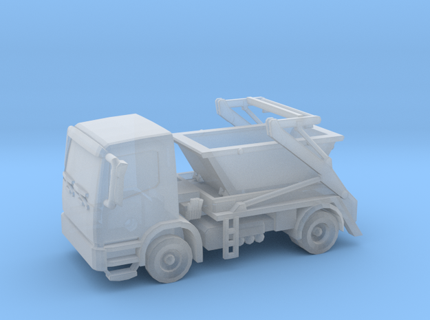 Truck & Container 01. N Scale (1:160) in Frosted Ultra Detail