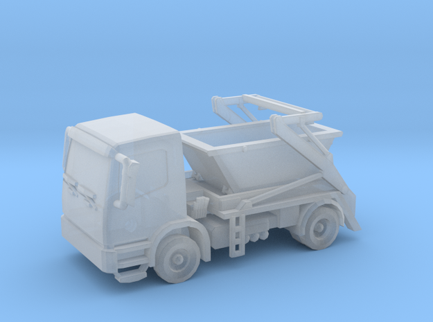 Truck & Container 01. Z Scale (1:220) in Smooth Fine Detail Plastic