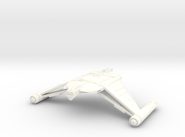V9 NightFlyer Refit Class Cruiser in White Strong & Flexible Polished