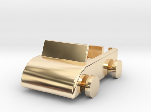 104102204 吳昇典 汽車菸灰缸 in 14K Gold
