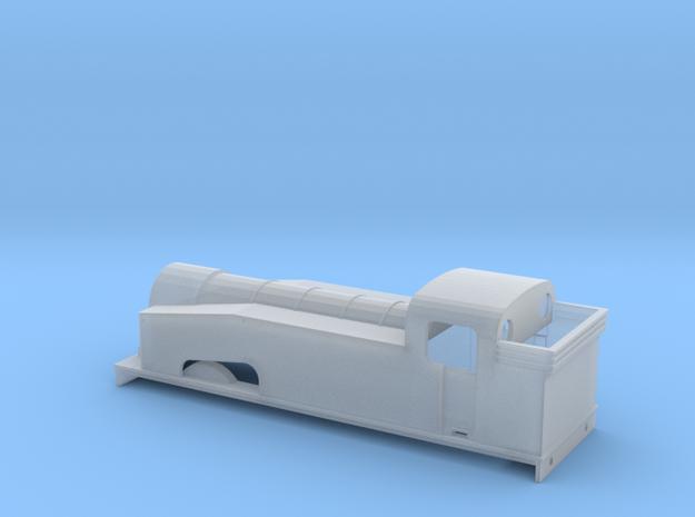 J50 Standard Bunker 2mm Scale in Smooth Fine Detail Plastic