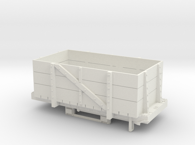 A-1-24-wdlr-b-class-wagon2a in White Natural Versatile Plastic