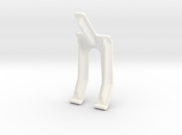 "Dji Phantom 2 7"" Screen holder in White Strong & Flexible Polished"