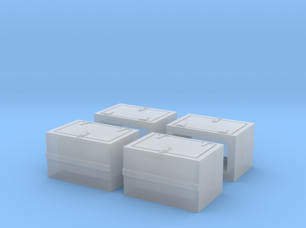 S MKT Battery Box in Smooth Fine Detail Plastic