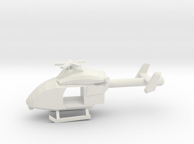 10mm (1/144) MD Explorer (FLIR, Doors Open) in White Strong & Flexible