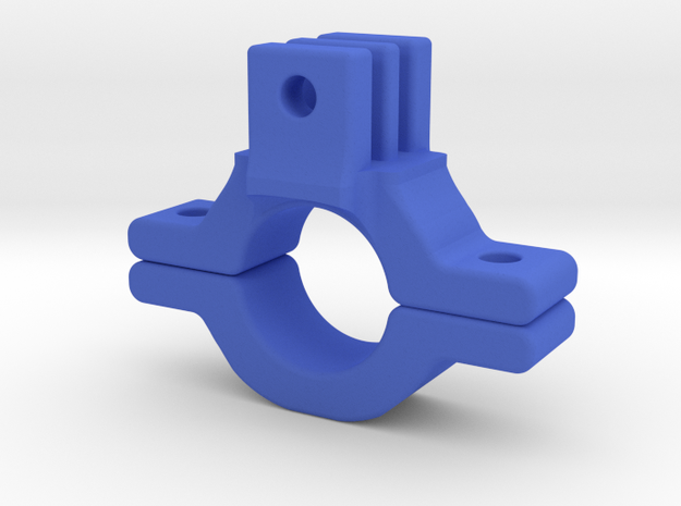 GoPro Bike Mount in Blue Processed Versatile Plastic