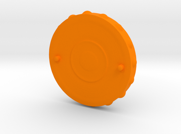 Snakeboard in Orange Strong & Flexible Polished