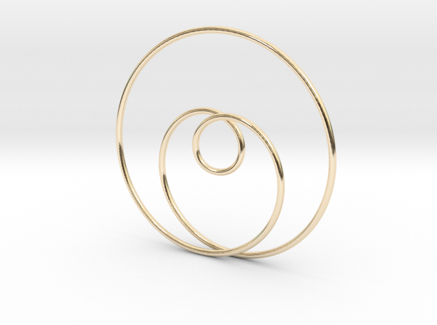 Simple Love in 14K Yellow Gold