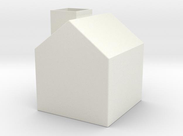 存錢筒 in White Strong & Flexible
