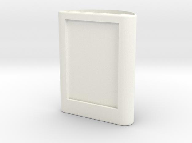 筆筒 in White Strong & Flexible Polished