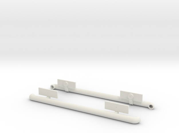 Tamiya Jimny MF01-X sidebar in White Strong & Flexible