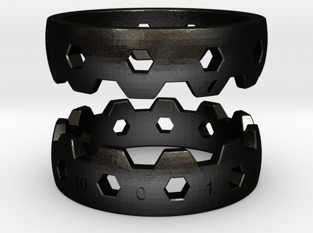 Hex Reminder Ring Size 6