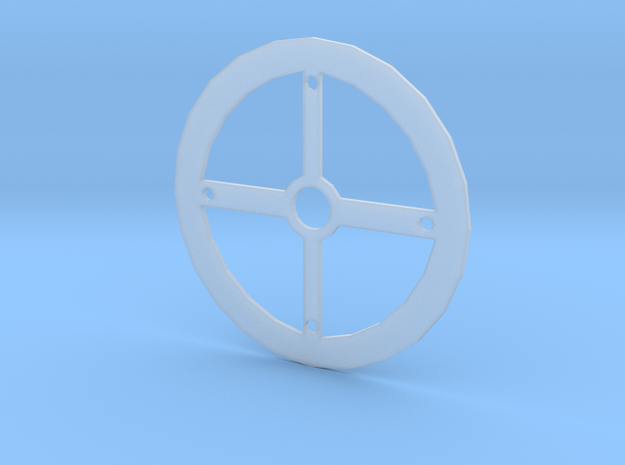 End Plate in Smooth Fine Detail Plastic