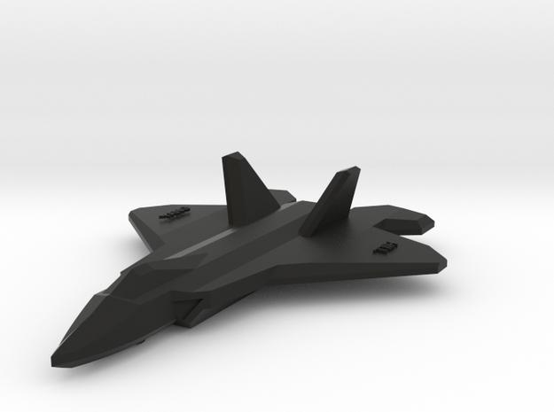 造型吊牌.stl in Black Natural Versatile Plastic