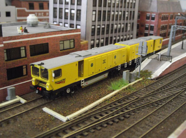 N gauge Harsco Rail Grinder (Twin)