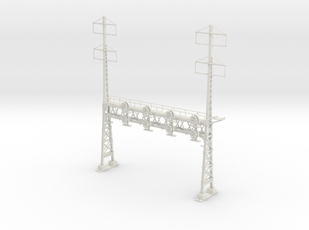 HO Scale PRR W-signal LATTICE 4 Track  W 2-2 PHASE in White Strong & Flexible
