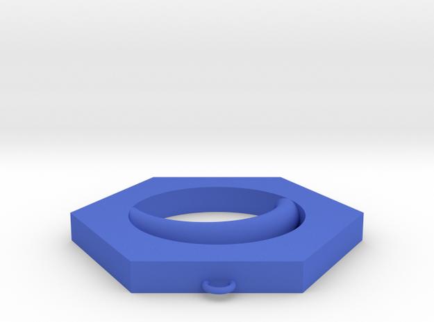 EYE in Blue Processed Versatile Plastic