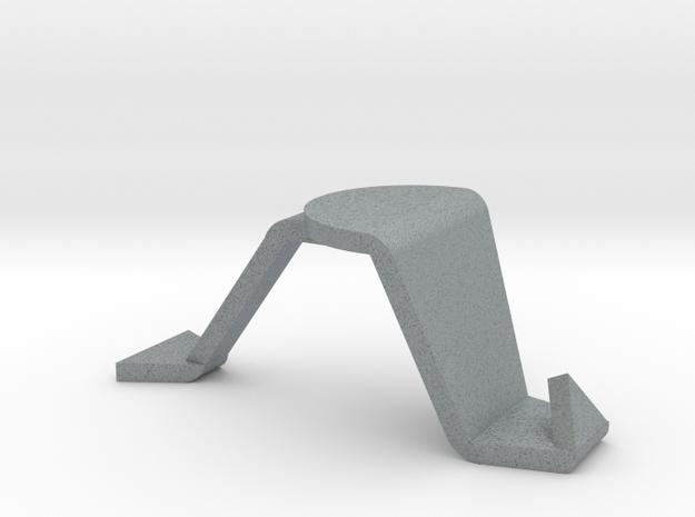 樹葉手機架 Leaves Cellphone Shelf in Polished Metallic Plastic