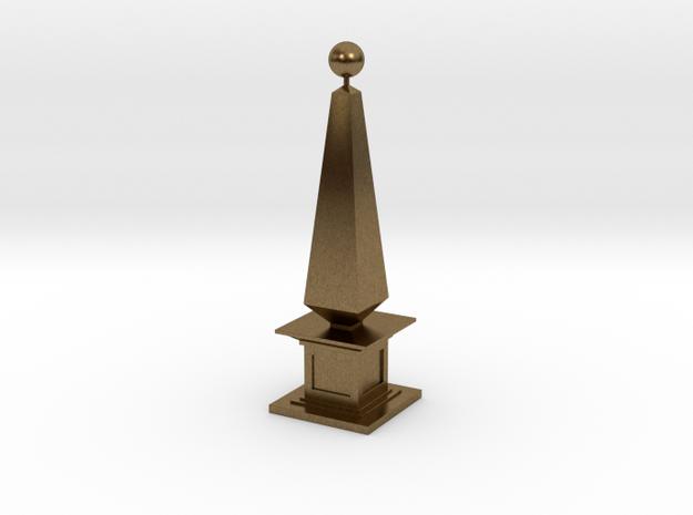 160105_Obelisk_01 in Natural Bronze