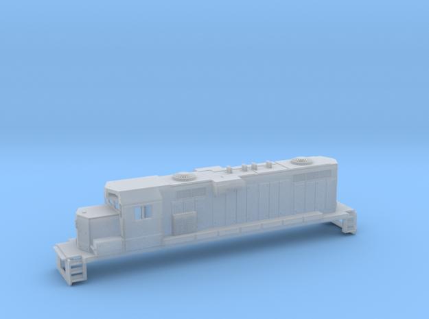 Gp11 N Scale Paducah Geep (For Printed Handrails) in Smooth Fine Detail Plastic