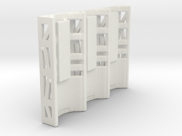 Zero Gravity Cage in White Strong & Flexible