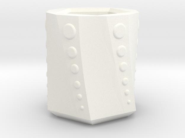 Potted in White Processed Versatile Plastic