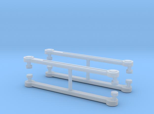 MRC Berkshire Eccentric Rods x4 - N Scale 1:160  in Smooth Fine Detail Plastic