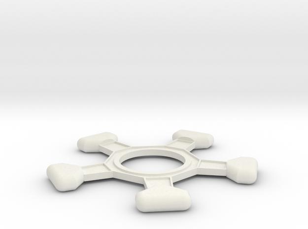Amm-testa in White Natural Versatile Plastic