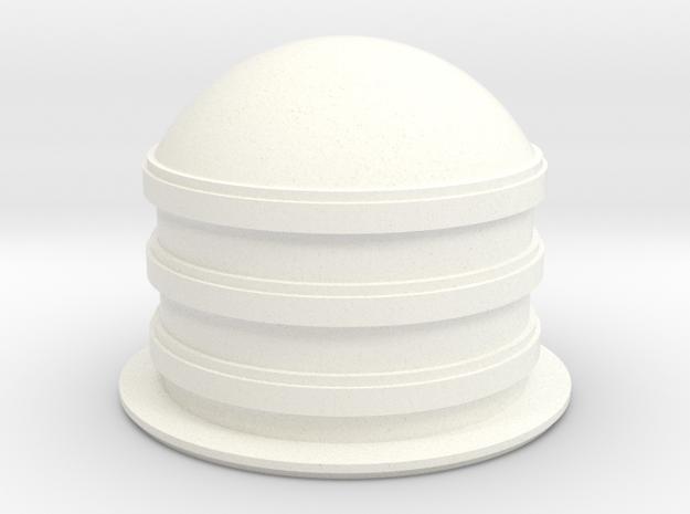 Jammer in White Processed Versatile Plastic