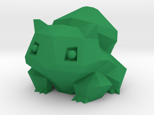 Bulbasaur in Green Strong & Flexible Polished