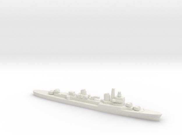 ITS Captaini Romani Class Cruiser, 1/1800 in White Natural Versatile Plastic