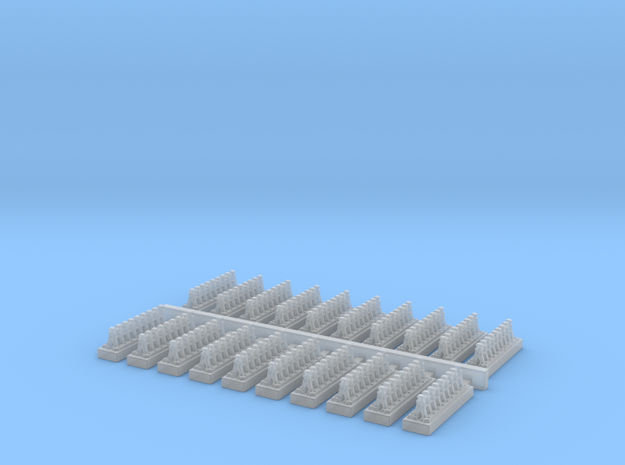 A Frames 8 x 20 - 7mm Scale in Smooth Fine Detail Plastic