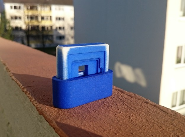 CPU Delid tool in Blue Strong & Flexible Polished