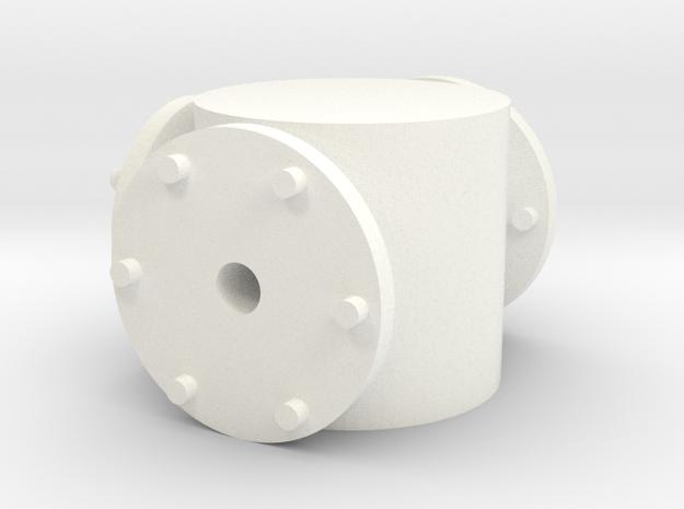 Zunhammer pump 2 1:32 in White Processed Versatile Plastic