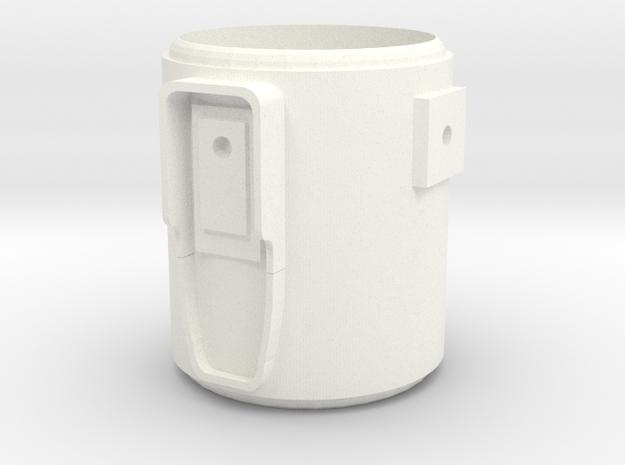 MHS compatible Yoda Activateur in White Processed Versatile Plastic