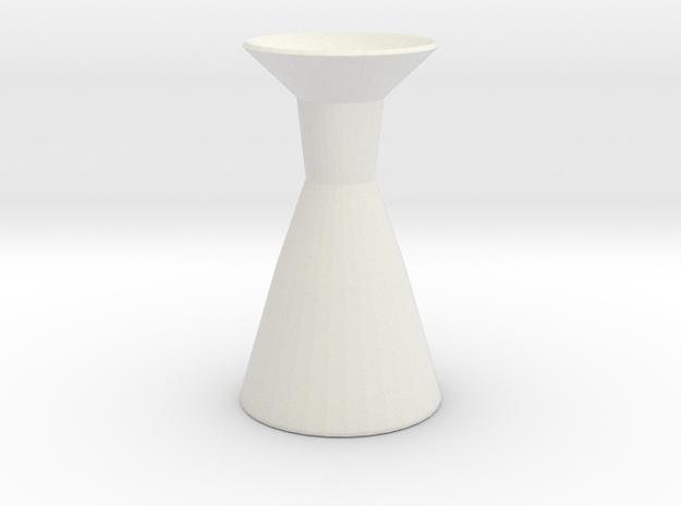Neck vase in White Strong & Flexible