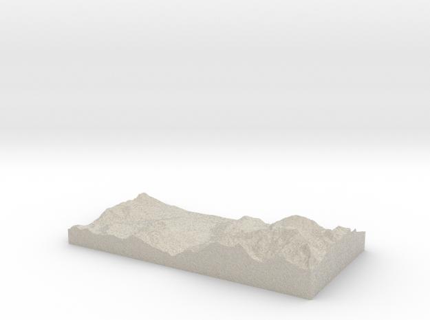 Model of Bionnay in Natural Sandstone