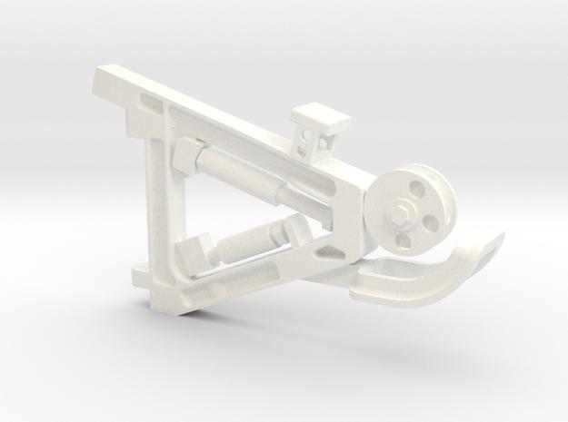 Maintri V2 in White Processed Versatile Plastic