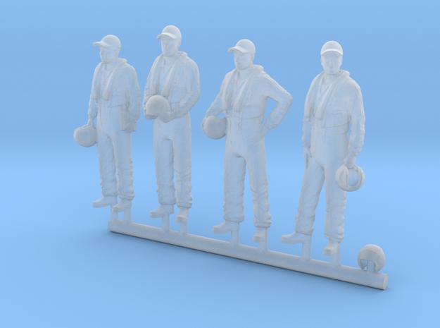 48-H0080: Grumman Tracker crew in 1:48 in Smooth Fine Detail Plastic