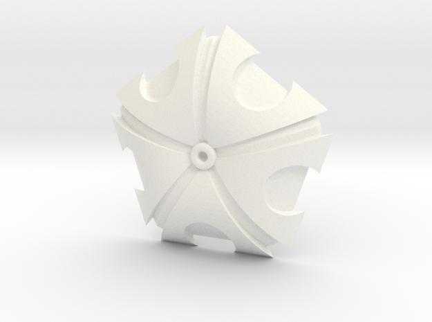 Owari no Seraph pendant in White Processed Versatile Plastic