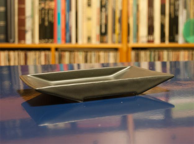 TORii platter 3d printed Torii Platter printed in pocelain