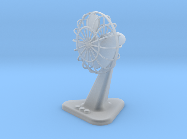 Fan with Stand 41mm hight ( Scale model )